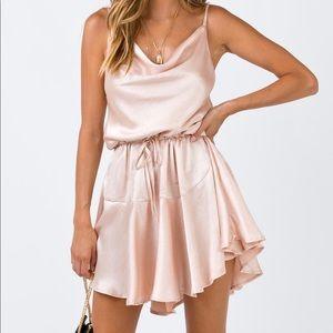 The Lia Mini Dress Champagne